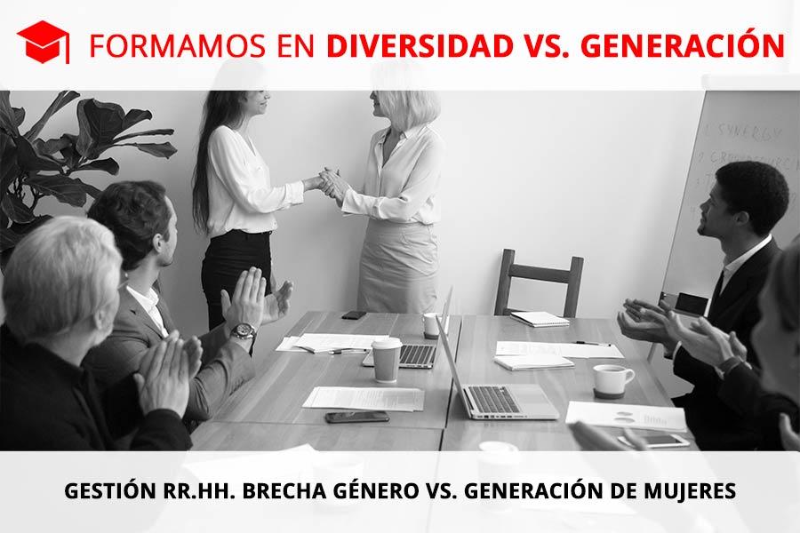 Gestión RR.HH. Brecha de Género vs. Generación de Mujeres