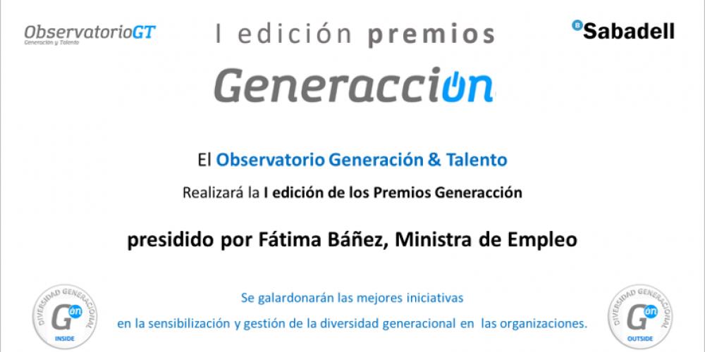 Fátima Báñez, ministra de Empleo – presidirá los premios Generacción – el próximo lunes 23 de abril en la sede de Repsol