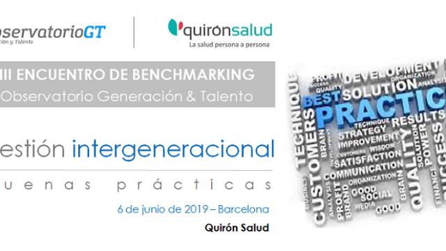 SÁLVATE LA FECHA – IV Encuentro de Benchmarking gestión Diversidad Generacional – 06/06/2019