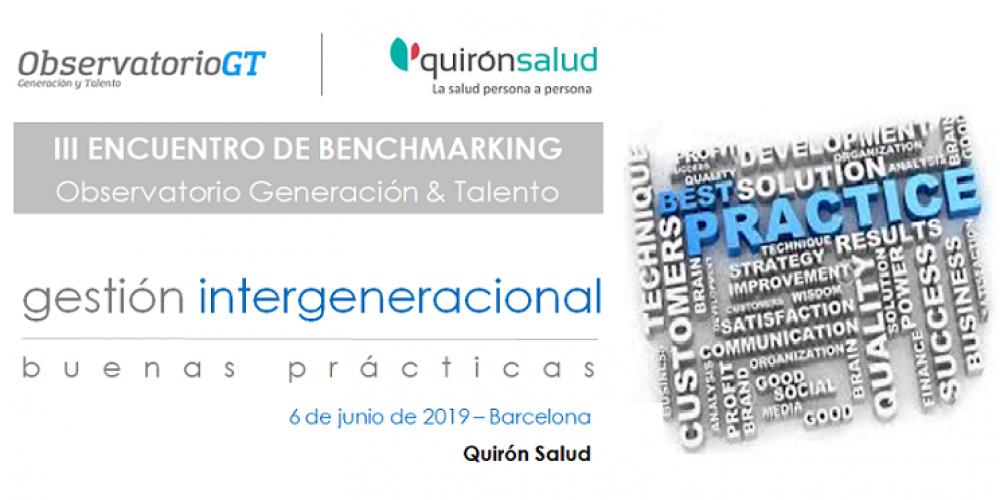 PARTICIPA – IV Encuentro de Benchmarking gestión Diversidad Generacional – 06/06/2019 -BARCELONA