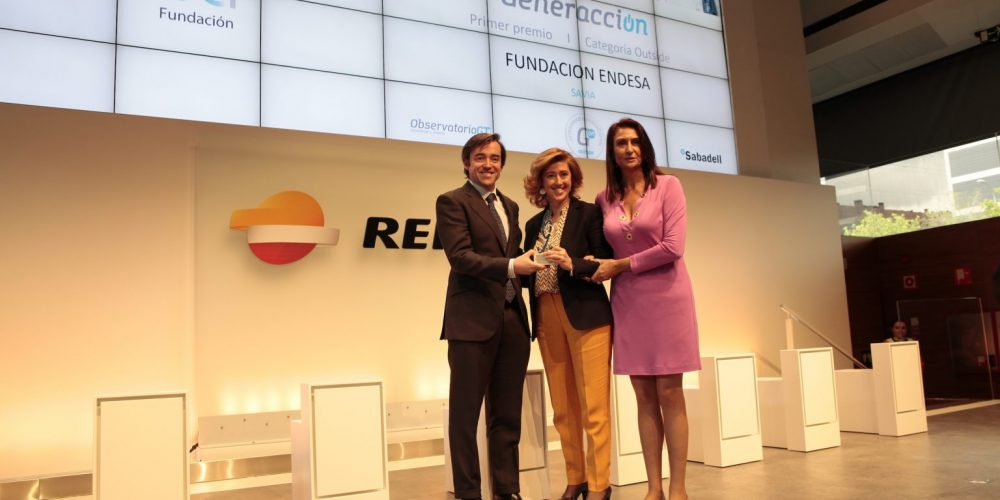 La plataforma Savia, de Fundación Endesa, primer premio Generacción en la categoría Outside company