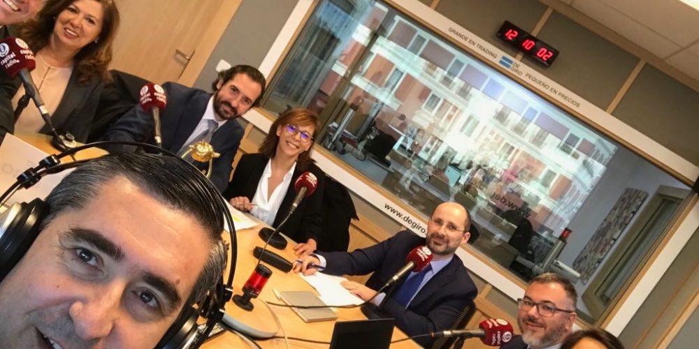 """12/02/2018 En la radio """"Generación & Talento"""" en el Foro RR.HH se analiza """"Retos del desarrollo del liderazgo intergeneracional """""""