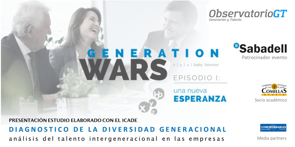 """Presentación estudio """"Talento InterGeneracional"""" en Barcelona"""