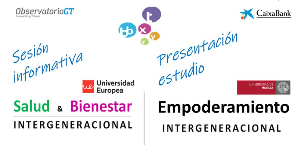 """Presentación """"Estudio Empoderamiento y Compromiso diversidad generacional"""" + Lanzamiento Foros """"Salud y Bienestar Intergeneracional"""""""