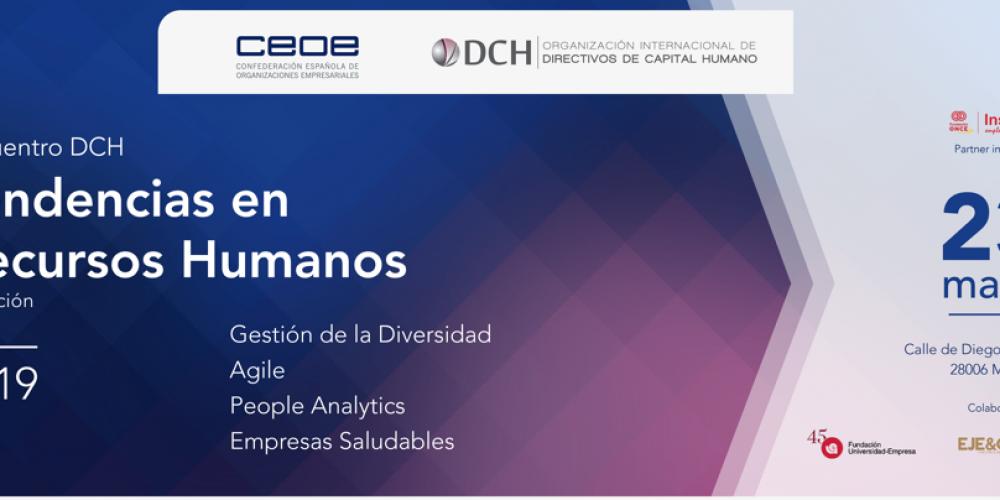 El Observatorio GT participa en el encuentro DCH Tendencias en Recursos Humanos 2019