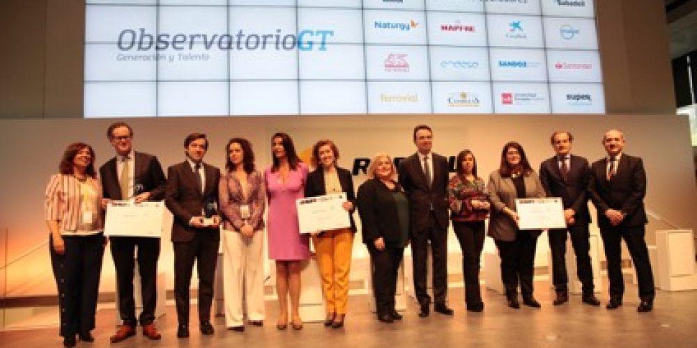 Sacyr, Correos, Fundación Endesa, Sonepar y Mutua Madrileña, premios Generacción a las mejores prácticas en la gestión de la diversidad generacional