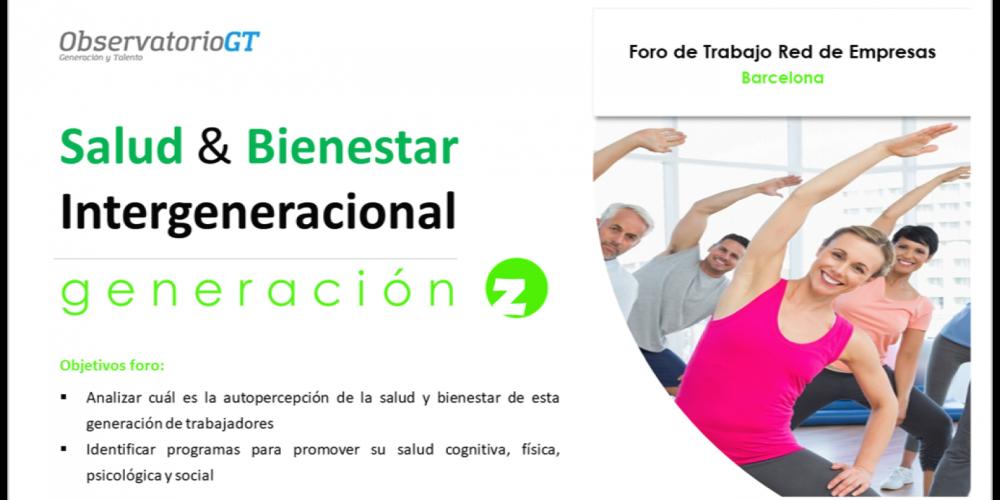 Foro Salud y Bienestar Intergeneracional Generación Z – Barcelona
