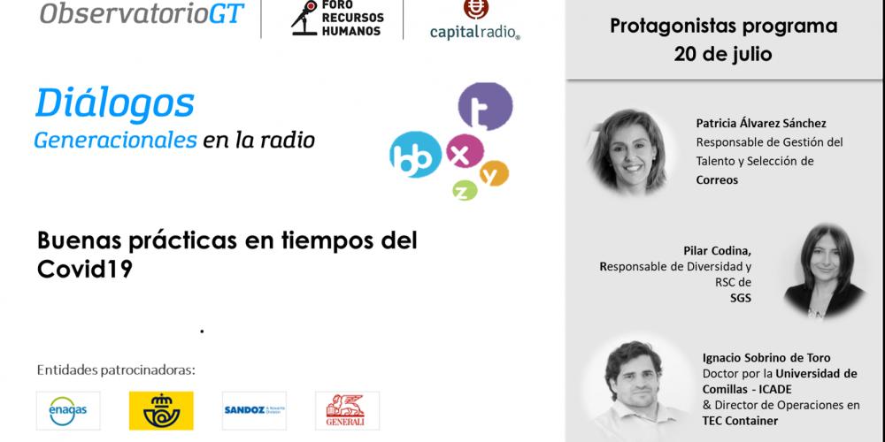Diálogos Covid19 con Correos, SGS e Ignacio Sobrino en el Foro RRHH ¿Cómo se preparan las empresas para el retorno?