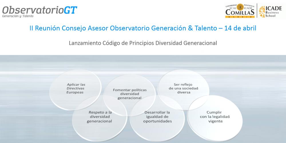 El Observatorio Generación & Talento impulsa el Código de Principios de Diversidad Generacional