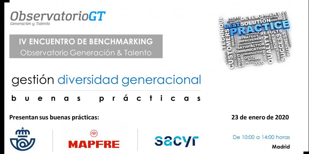 IV Encuentro de Buenas Prácticas – CORREOS / MAPFRE / SACYR – Gestión Diversidad Generacional – Madrid