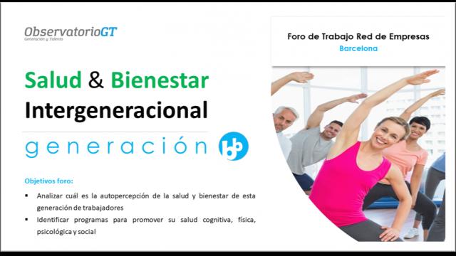 Foro Salud y Bienestar Generación Baby Boomer – Barcelona
