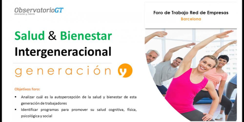 Foro Salud y Bienestar Generación Y – Barcelona