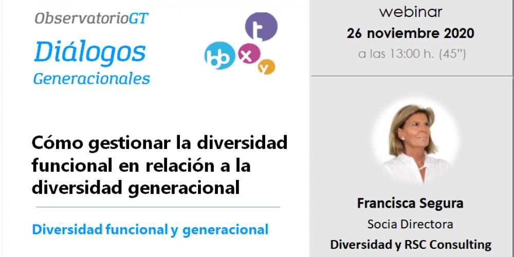El Observatorio GT analiza en un nuevo Diálogo la integración de personas con discapacidad en la empresa