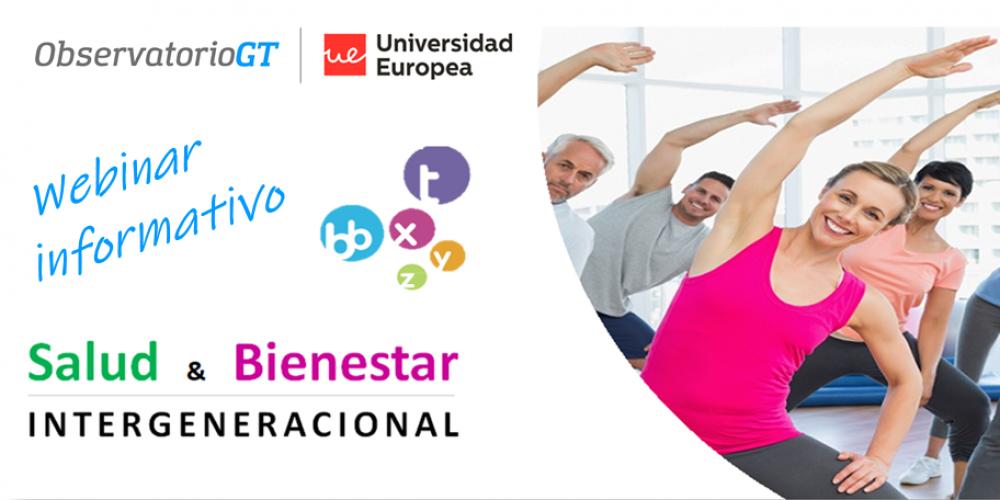 Webinar «Salud y Bienestar Diversidad Generacional». Sesión informativa nuevo ciclo de trabajo Barcelona – Empezamos abril 2020