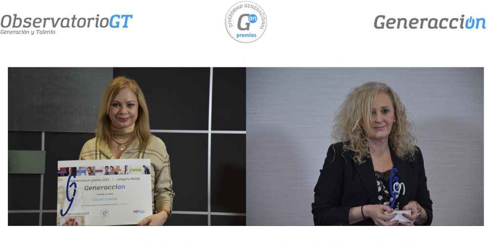 Ilunion y SGS, tercer Premio Generacción en la categoría Inside Company