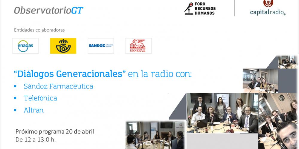 «Dialogos generacionales» en la radio en tiempos del Covid19