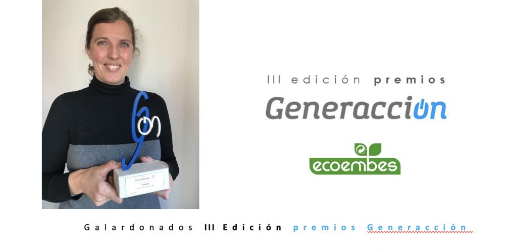 Ecoembes, segundo Premio Generacción en la categoría Outside Company