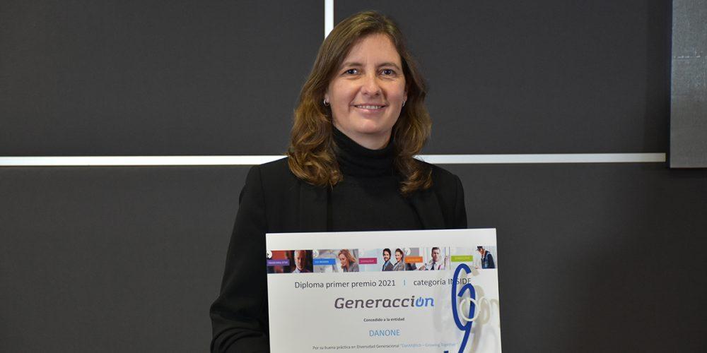 Danone, primer Premio Generacción en la categoría Inside Company