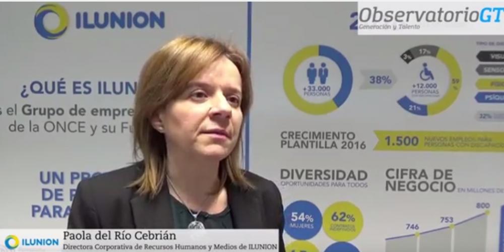 Testimonio Paola del Río sobre diversidad generacional en el grupo ILUNION