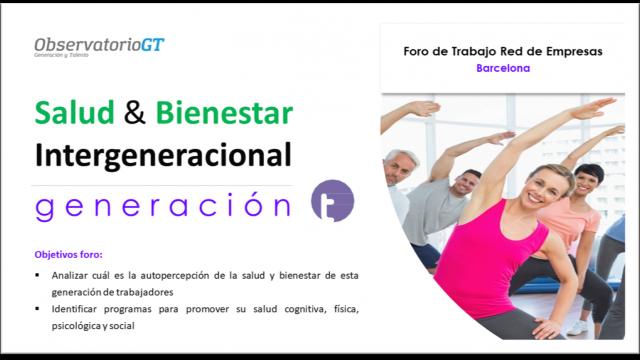 Foro Salud y Bienestar Generación Tradicionalista – Barcelona