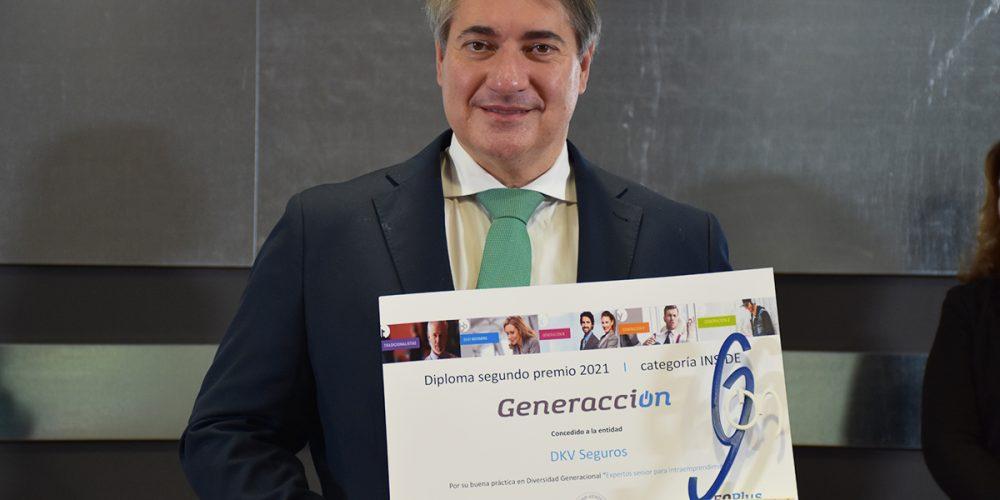 DKV Seguros, segundo Premio Generacción en la categoría Inside Company