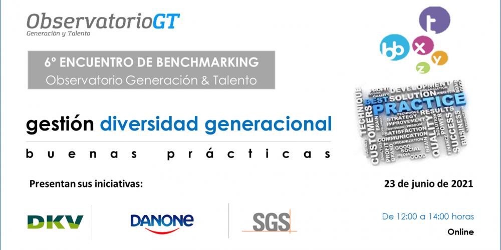 6º Encuentro de Buenas Prácticas Gestión Diversidad Generacional:  DANONE – DKV – SGS
