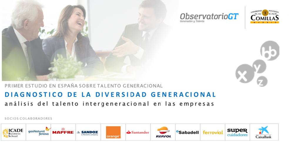 Primer estudio sobre el talento Intergeneracional en las empresas españolas