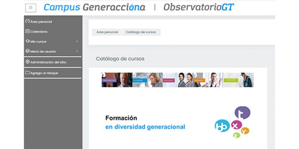El Observatorio Generación y Talento pone en marcha un Campus virtual sobre diversidad generacional