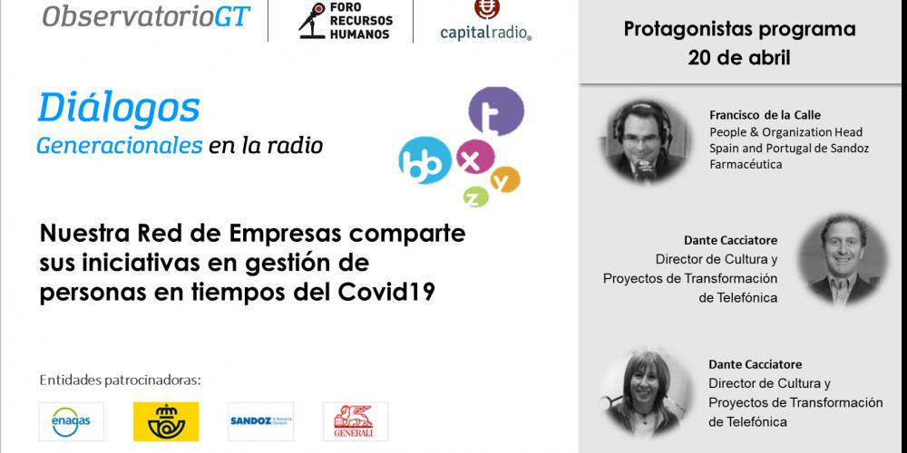 Diálogos Covid19 con Altrán, Sandoz y Telefónica