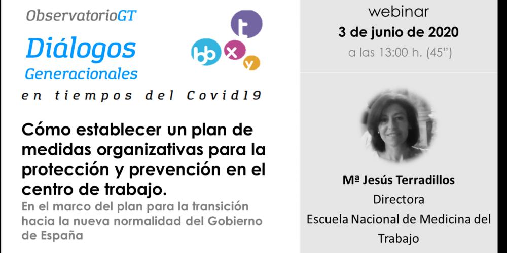 «Diálogos del Covid19» – ¿Qué medidas deben adoptar las empresas para la protección y prevención en sus centros de trabajo?