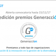 I edición premios Generacción