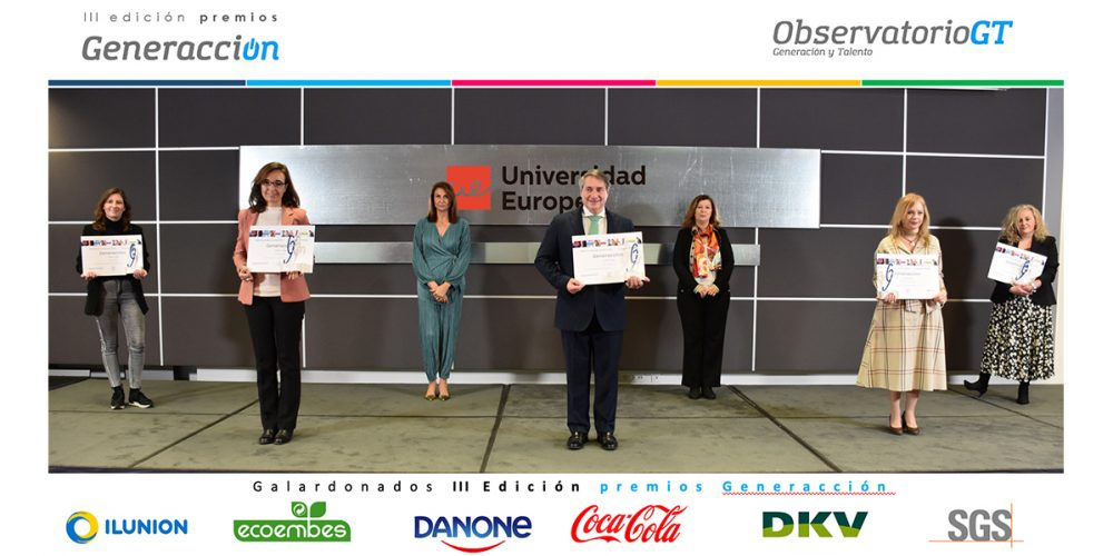 Gala de la III edición de los premios Generacción
