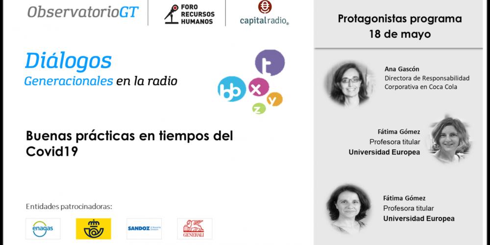 Diálogos Covid19 con Coca Cola y la Universidad Europea