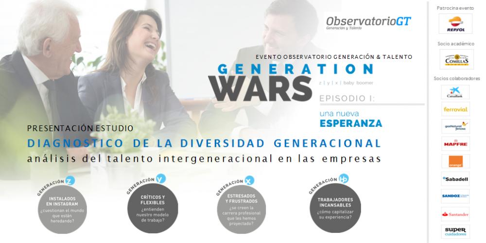 GENERATION WARS. EPISODIO I: UNA NUEVA ESPERANZA