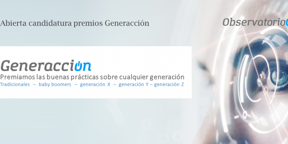 Se amplía el plazo para presentar las candidaturas a los III Premios Generacción